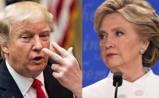 """Trump: """"¿Por qué no investigan vínculos de Clinton con Rusia?"""""""