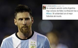 Lionel Messi: Evo Morales defendió al crack con este tuit