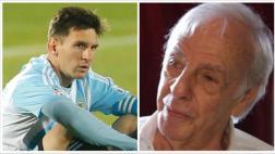 """Lionel Messi: César Menotti tildó de """"disparate"""" la sanción"""