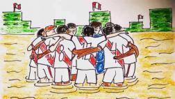 Perú-Uruguay: emotiva imagen circula en redes previo a duelo