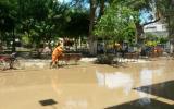 El Centro Histórico de Piura se encuentra completamente paralizado. (Foto: Enrique Vera / El Comercio)