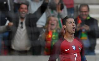Cristiano anotó gol que generó grito particular en el estadio