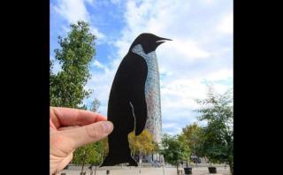 Artista recrea paisajes con cortes de papel y asombra Instagram