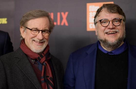 Netflix: Spielberg y Del Toro en premiere de