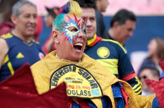 Ecuador-Colombia: hinchas cafeteros pusieron la fiesta en Quito
