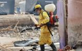 Río Rímac: fumigan viviendas de Huachipa y Lurigancho Chosica