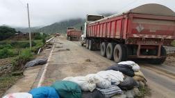 Cajamarca: rehabilitan parcialmente tránsito hacia la costa