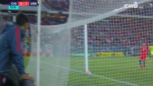 ¿Fue gol? La polémica jugada que reclama toda Venezuela. (Video. CMD)