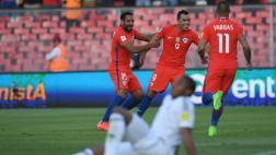 Chile venció 3-1 a Venezuela y está en puestos de clasificación