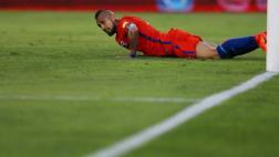 Arturo Vidal y el mea culpa por errar tantas opciones de gol