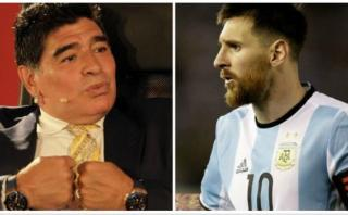 """¿Maradona defendió a la FIFA?: """"Se ve que Messi lo insulta"""""""