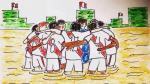 Perú-Uruguay: emotiva imagen circula en redes previo a duelo - Noticias de raul tomas