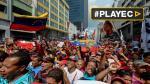 Chavistas marcharon en Caracas contra sesión de la OEA - Noticias de nicolas madura