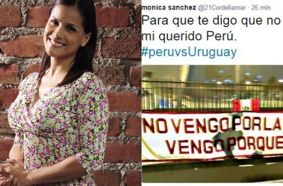 Perú vs. Uruguay: famosos peruanos vivieron así el encuentro