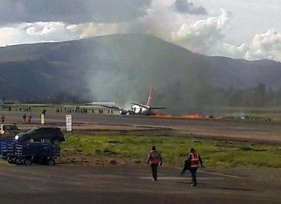 Corpac suspendió vuelos comerciales en el aeropuerto de Jauja