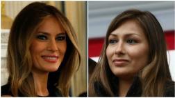 Melania Trump premia a peruana en Washington