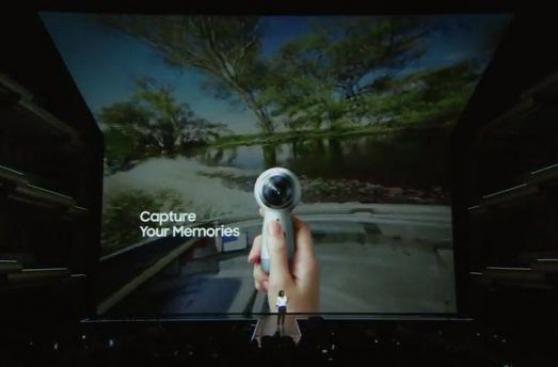 Samsung: así es la nueva cámara Gear 360 que graba en 4K