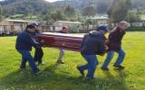 Áncash: conductor muere tras derrumbarse carretera por lluvias