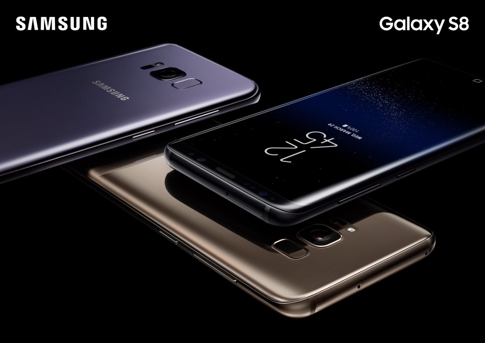 Samsung presentó el nuevo Galaxy S8. (Foto: Difusión)