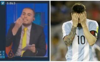 """Lionel Messi: en programa de TV lo califican de """"irresponsable"""""""