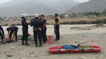 Chosica: así fue la búsqueda del ingeniero que cayó a río Rímac