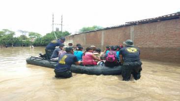Piura: rescates están a punto de culminar en el Bajo Piura