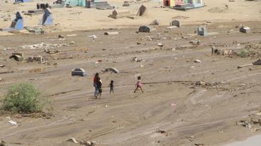 Trujillo: reubicarán a 4 mil cadáveres de cementerio inundado