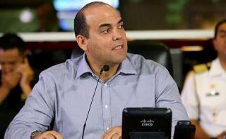 """""""Esperamos que esa colaboración de la empresa Odebrecht con la fiscalía continúe"""", dijo Fernando Zavala. (Foto: Sepres)"""