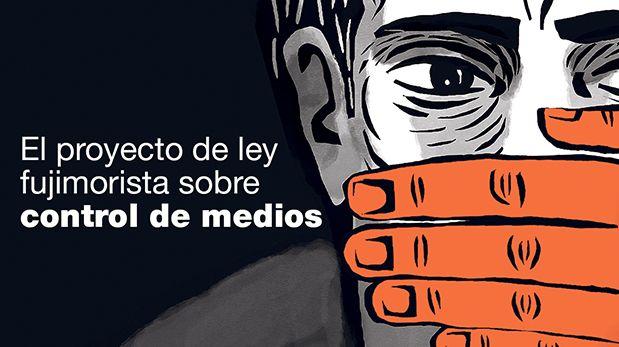 Congresistas de Fuerza Popular han propuesto un proyecto de ley sobre control de medios de comunicación, el cual ha generado polémica. (Video: Armando Scargglioni / El Comercio)