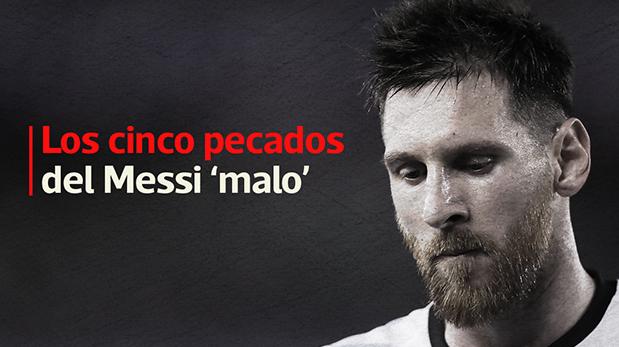 Lionel Messi y cinco momentos en los que perdió el control. (Video: El Comercio)