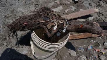Un balde abandonado fue el causante de aniego en Surco