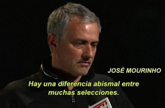 José Mourinho comparó eliminatorias europeas con sudamericanas