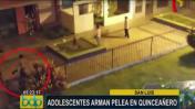 San Luis: pelea de pandilleros arruina fiesta de quinceañera