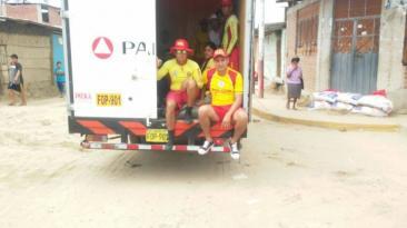 Así trabajan los salvavidas de la PNP en Piura [FOTOS]
