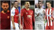 Fútbol europeo: los jugadores que en tres meses quedarán libres