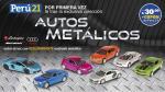 Autos metálicos: carrocería con pintura de alto brillo - Noticias de cercado de lima
