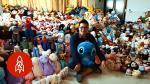 Sujeto ganó 15 mil peluches en las máquinas de garra en un año - Noticias de