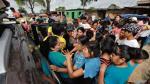 Piura: la policía resguarda entrega de donativos ante desmanes - Noticias de luis montes