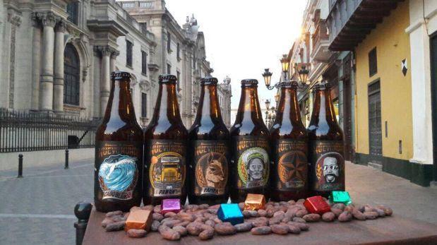 Noche de chocolates y cervezas en el Centro de Lima
