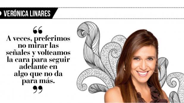 Verónica Linares: Una relación es de dos
