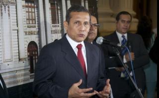 """Ollanta Humala: """"Alan García haría bien en venir al país"""""""