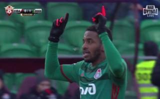 Farfán quiere convencer a Gareca: anotó su primer gol en Rusia