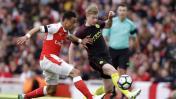 Arsenal empató 2-2 ante Manchester City por la Premier League
