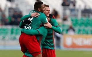 Farfán y su alentador mensaje luego de marcar con Lokomotiv