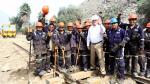 PPK inspeccionó rehabilitación de vía del Ferrocarril Central - Noticias de ferrocarril central andino