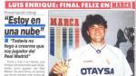 Luis Enrique: lo feliz que sintió cuando fichó por el Madrid - Noticias de julio enrique