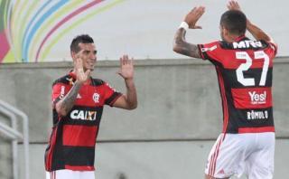 Con Trauco: Flamengo empató 1-1 ante Fluminense por Taca Rio