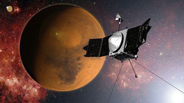 Marte perdió su atmósfera por el viento solar y la radiación
