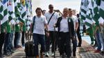 Chapecoense: jugadores de Nacional fueron recibidos como héroes - Noticias de atanasio girardot