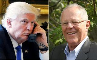 Trump habló por teléfono con PPK y ofreció ayuda al Perú